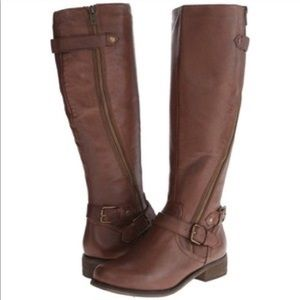 NWOB Steve Madden Synicle Riding Boots-Brown